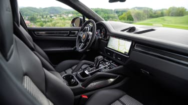 Porsche Cayenne Turbo Coupe - interior