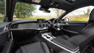 Kia Stinger GT-S MY21 press – cabin