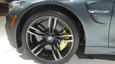 BMW M4 Convertible New York show alloy wheel