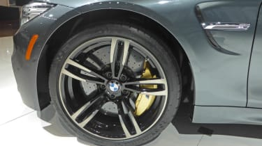 BMW M4 Convertible New York show alloy wheel