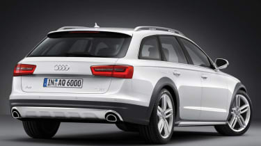 New Audi A6 Allroad rear view