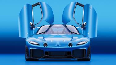 Alpine A110 GTA concept – doors open