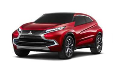 Mitsubishi XR PHEV concept front