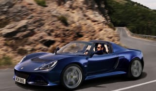 Lotus Exige S Roadster on the road