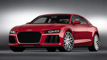 Audi Sport Quattro laserline front