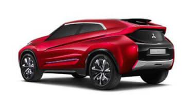 Mitsubishi XR PHEV concept rear