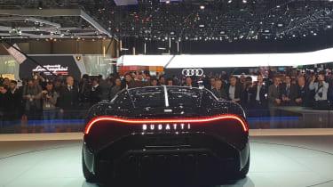 Bugatti La Voiture Noire at Geneva 2019