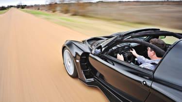 Hennessey Venom GT driving