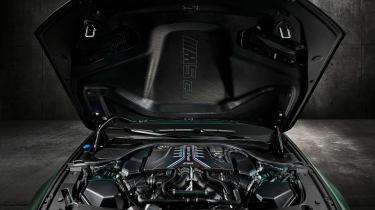 BMW M5 CS - engine