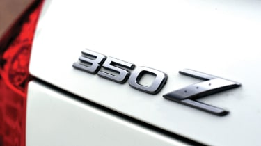 Nissan 350Z badge
