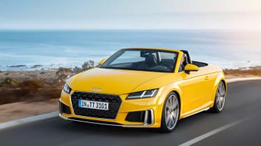 Audi TT facelift - front