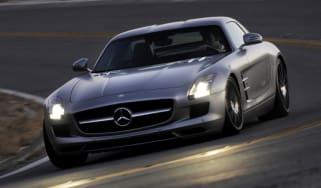 Mercedes SLS AMG supercar