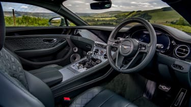 Bentley Continental GT review – green interior