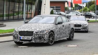 Jaguar XE R - front