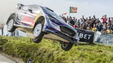 Sébastien Ogier - jump