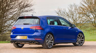 Volkswagen Golf R - rear three quarter