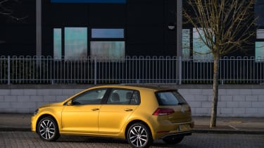 Volkswagen Golf rear three quarter static