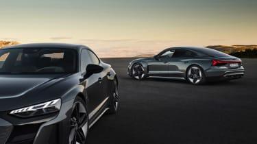 Audi e-tron GT quattro - range