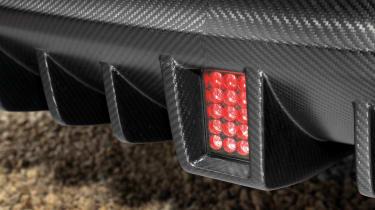 2012 Infiniti FX Vettel foglight F1 style diffuser