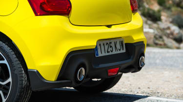 Suzuki Swift Sport – rear bumper