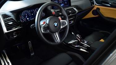 BMW X3 M interior