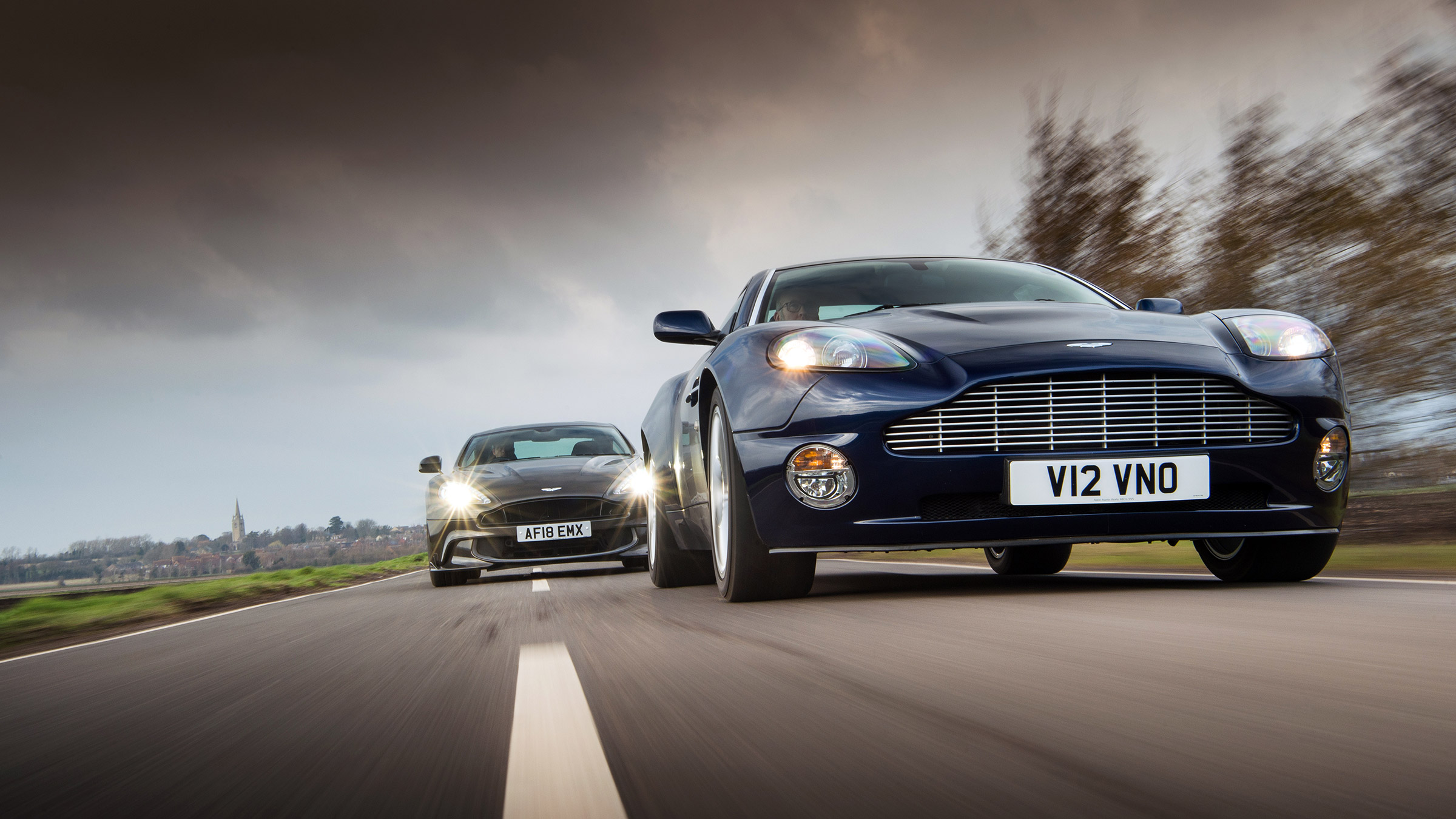 Vanquishing Point The First And Last Aston Martin Vanquish Models Go Head To Head Evo