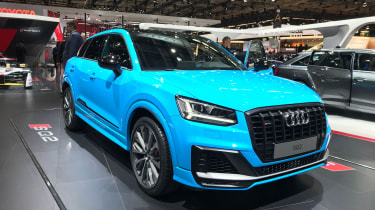 Audi SQ2 Paris motor show - front