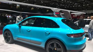 Porsche Macan facelift - Paris motor show