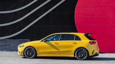 Mercedes-AMG A35 - side