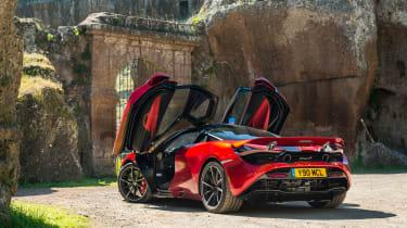 McLaren 720S - doors open