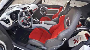Kia Track'ster hot hatch concept seats