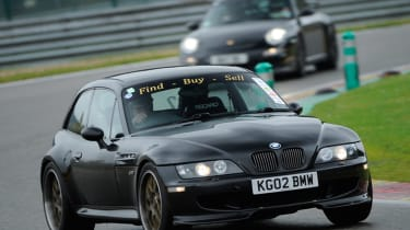 BMW M coupe buying guide - front racing