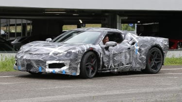 Ferrari F171 spy 2021 – front quarter