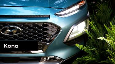 Hyundai Kona - lighting graphics
