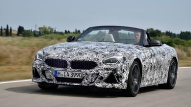 New 2019 BMW Z4 – front quaryer