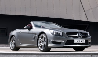 Mercedes SL63 AMG 2014 update
