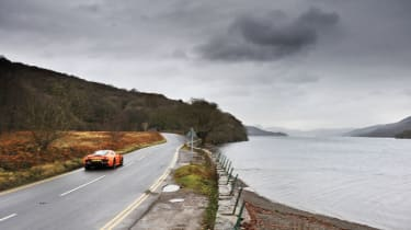 Noble M600 on the road