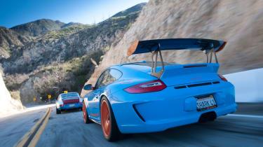 Cali 911s - rear driving