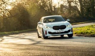 BMW 128ti - cornering