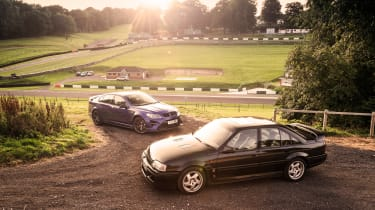 VXR8 GTS-R vs Carlton - front
