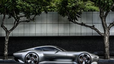 Mercedes AMG Vision Gran Turismo side profile