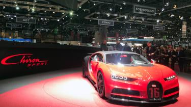 Bugatti Chiron Sport –front quarter