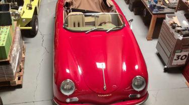 Electric Porsche 356