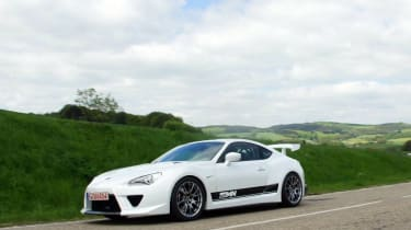 320bhp GT 86 at the Goodwood FoS