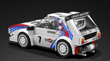 LEGO Lancia Delta S4 - rear1