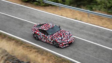 Toyota Supra proto drive - pan