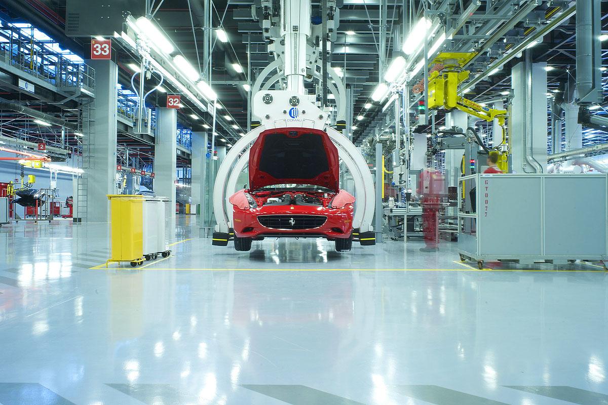 Making Of A Ferrari Evo