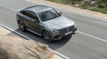 2019 Mercedes-AMG GLC 43 coupe front