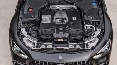 Mercedes-AMG GT 63 S - engine