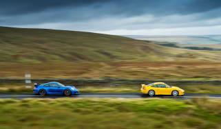 Porsche 911 GT3 991 and 996